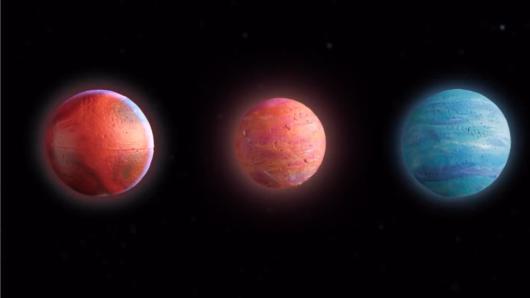 Egzoplanetos. Visatoje esame ne vieni