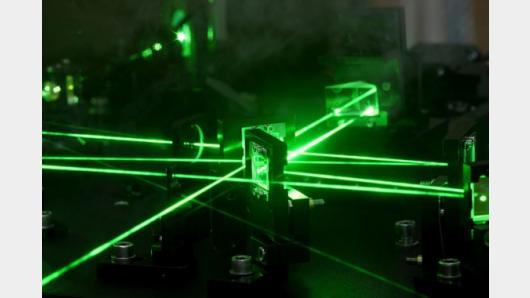 How does a laser work?